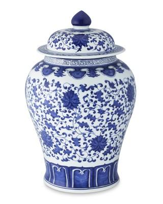 Potiche Chine Blue!!! Luxo!!!
