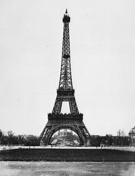 Final de março 1889 : vista geral da obra