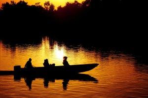 Pantanal-Jaguar-House-Boat-Golden-Sunset-Brazil-Ecotravel1